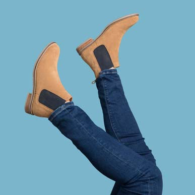 Ladies Kirby Suede Chelsea Boots