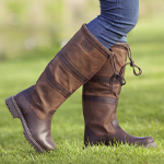 Ladies Browen Leather Country Boots