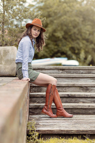 Ladies Tall Country Boots