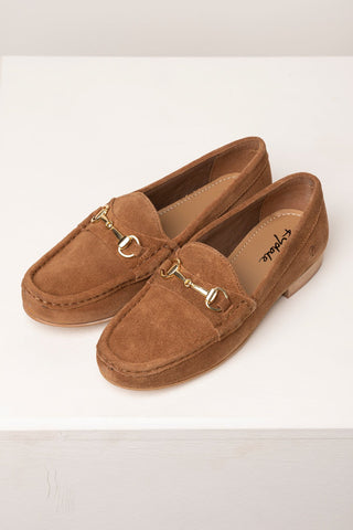 Ladies Suede Loafers
