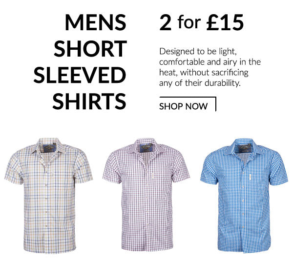 Rydale Men's Short Sleeve Shirts