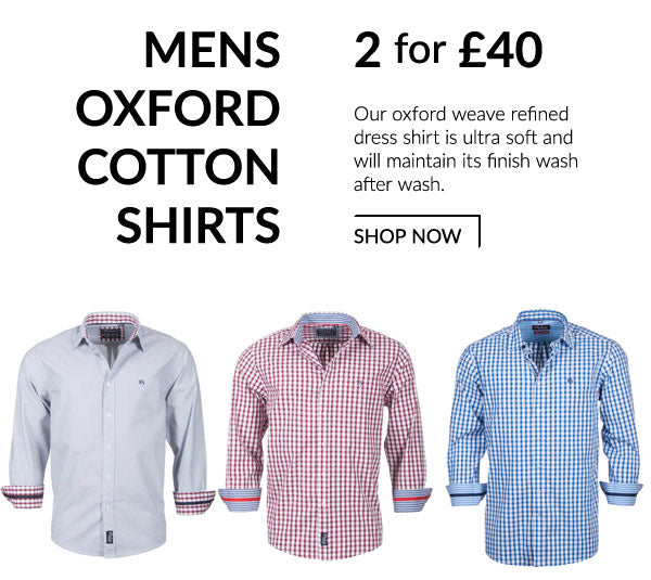 Rydale Men's Oxford Cotton Shirts