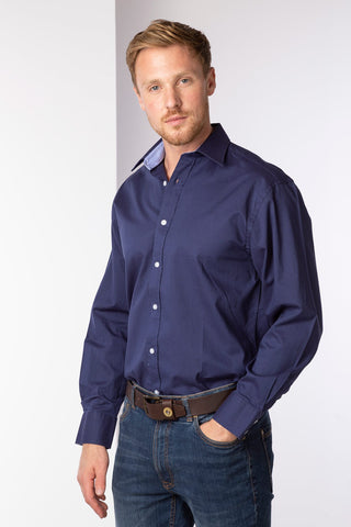 Men's Oxford Cotton Plain Shirt