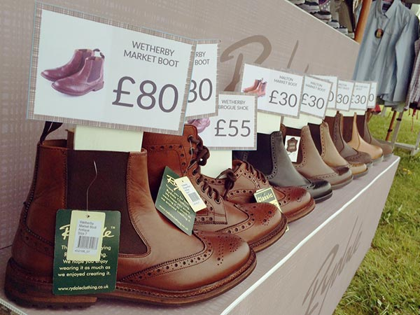 Rydale Boots at Somerset Show