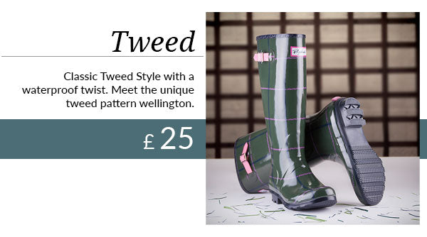 The New Ripon Tweed Welly
