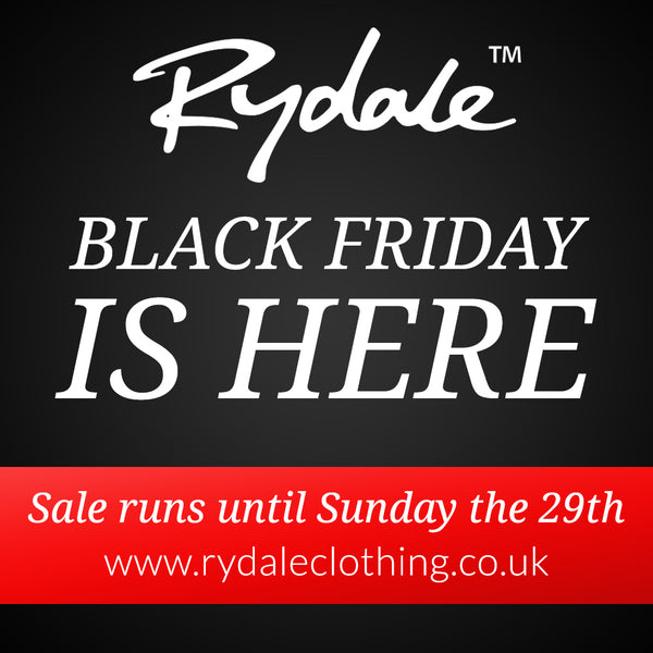 Rydale Black Friday Sale 2015