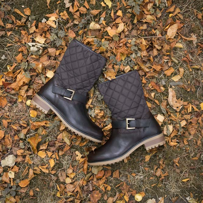 Hutton Quilted Boots