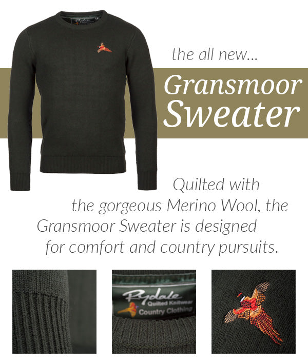 Gransmoot Quilted Sweater