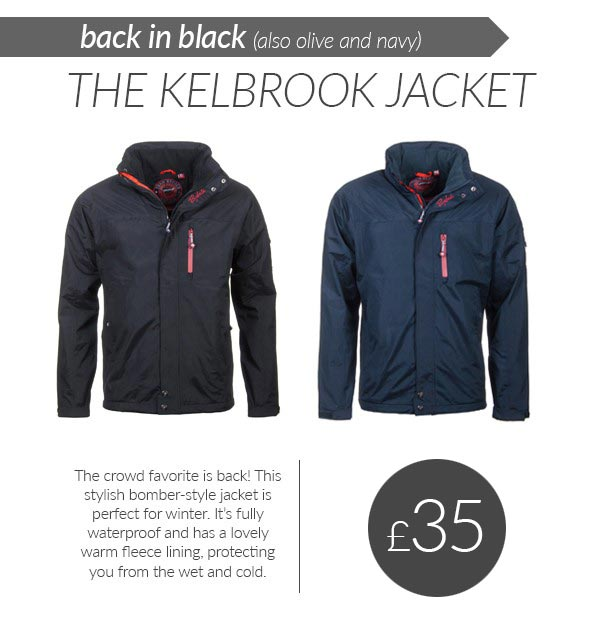 The Kelbrook Jacket Returns
