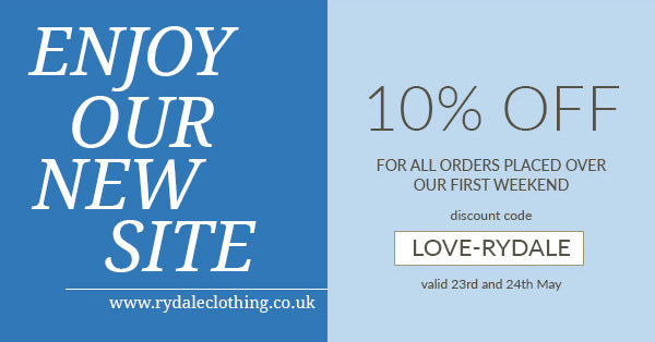 LOVE-RYDALE - 10% Off Everything