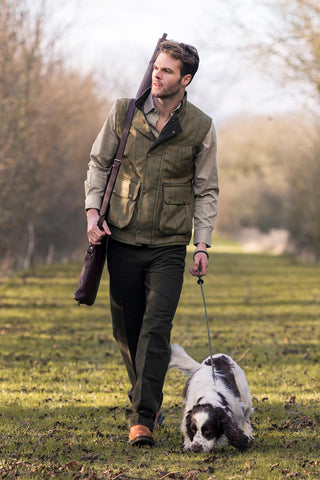 Men's Tweed Gilet