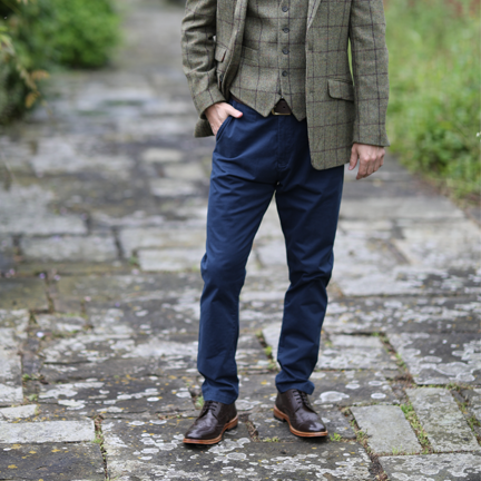 What to Wear with Navy Chinos