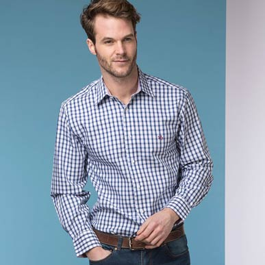 When to wear an Oxford shirt as a country gentleman