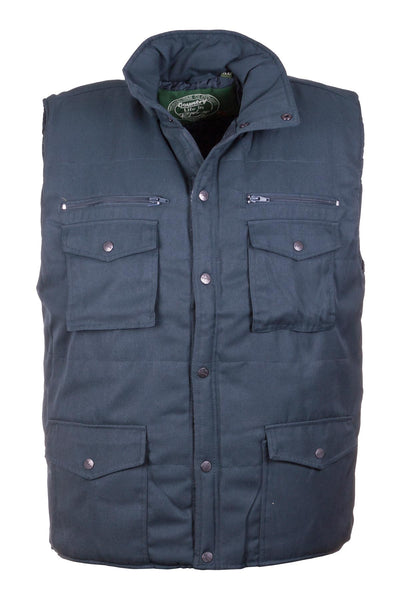 Navy - 1722 Mens Bodywarmer