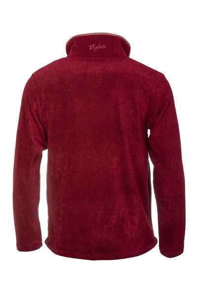 Red - Mens Harpham Overhead Fleece