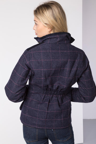 Navy - Ladies Bramham II Tweed Jacket