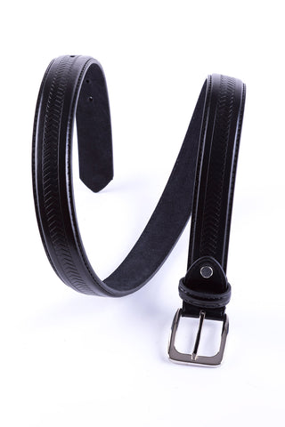 Rydale Patterned Leather Belt 5028