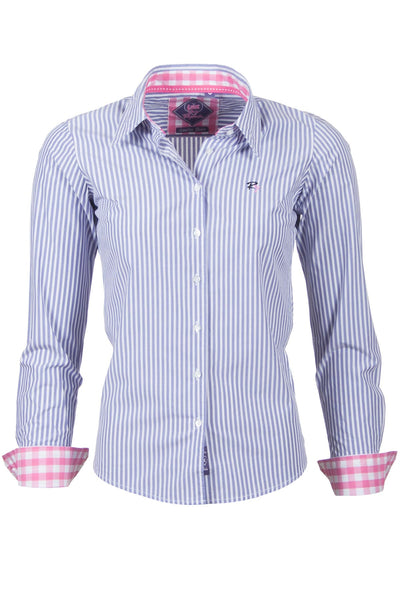 Amelia - Striped Ladies Shirt