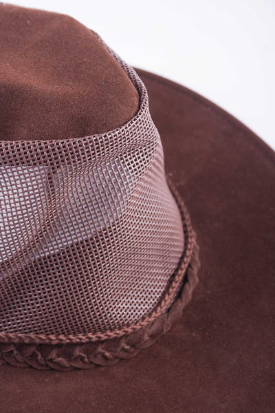 Brown - Australian Soaker Hat