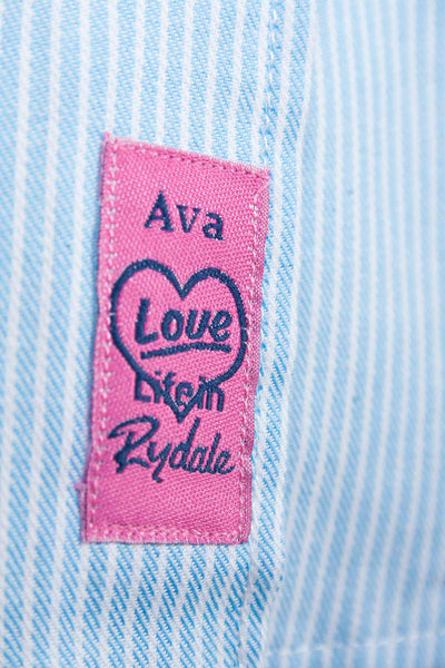 Ava Stripe - Rydale Juniors' Girls' Country Check Shirts