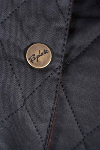 Black - Rydale Womens 100% Waxed Cotton Country Jacket