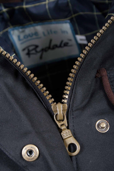 Black - Rydale Gayle Waxed Jacket
