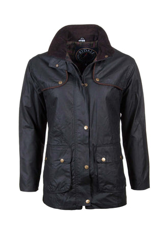 Diamond Quilted Waxed Jacket