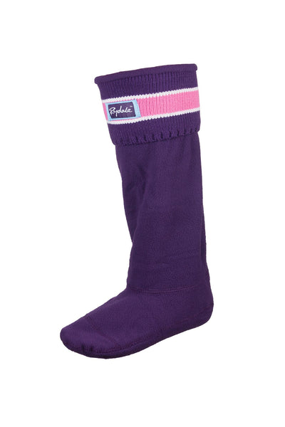 Damson - Striped Boot Liners