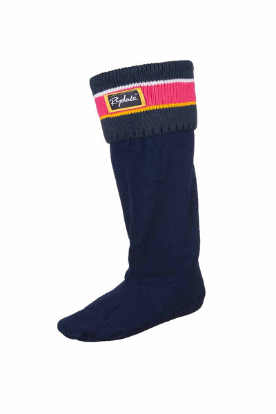 Navy/red - Striped Boot Liners
