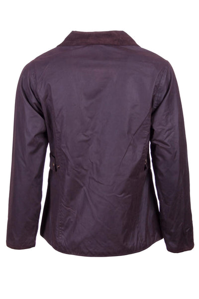 Brown - Rydale Ladies Gayle Wax Cotton Jacket