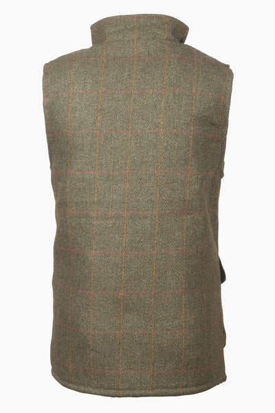Dark Check - Rydale Juniors Boys Derby Tweed Waistcoat