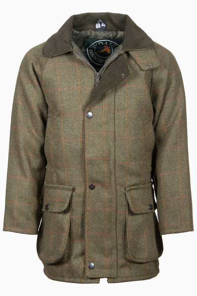 Dark Check - Rydale Juniors Boys Derby Tweed Jacket