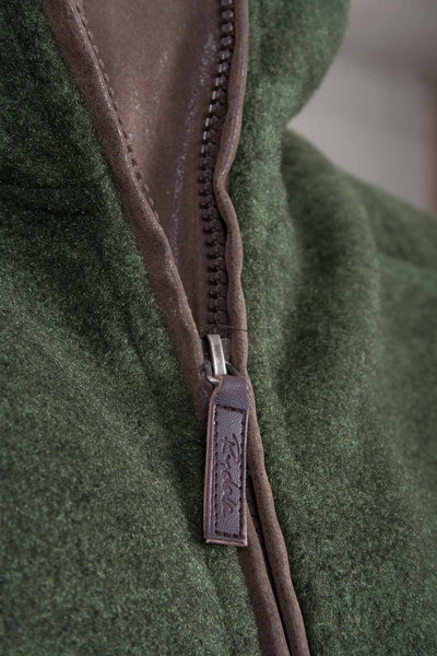 Dark Olive - Egton Fleece Gilet
