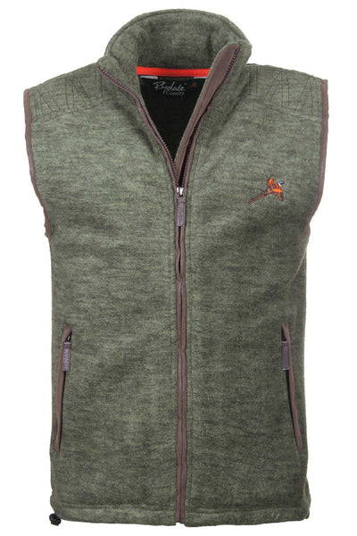 Light Olive Pheasant - Egton Fleece Gilet