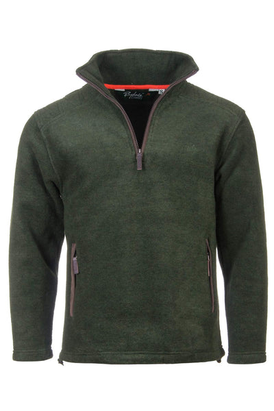 Dark Olive - Egton Half Zip Fleece
