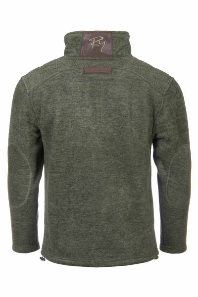 Light Olive - Egton Half Zip Fleece