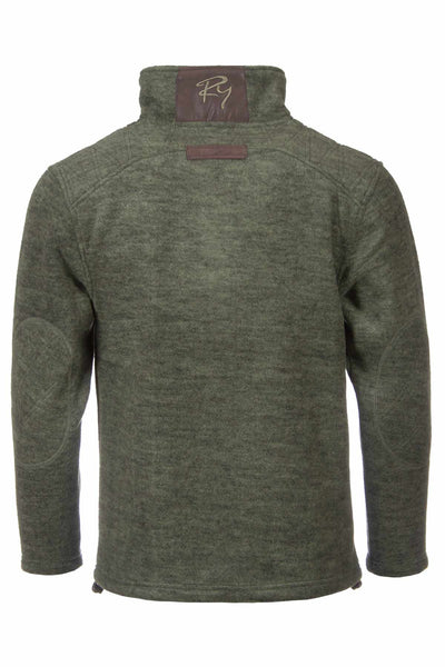 Light Olive Pheasant - Egton Half Zip Fleece