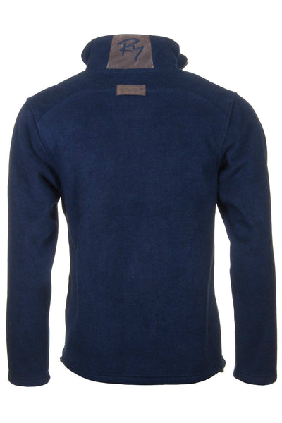 Navy - Egton Half Zip Fleece