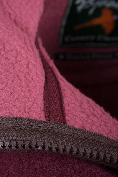 Deep Red - Garton Bonded Fleece Gilet