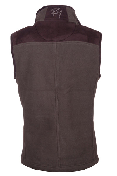 Light Olive - Garton Bonded Fleece Gilet
