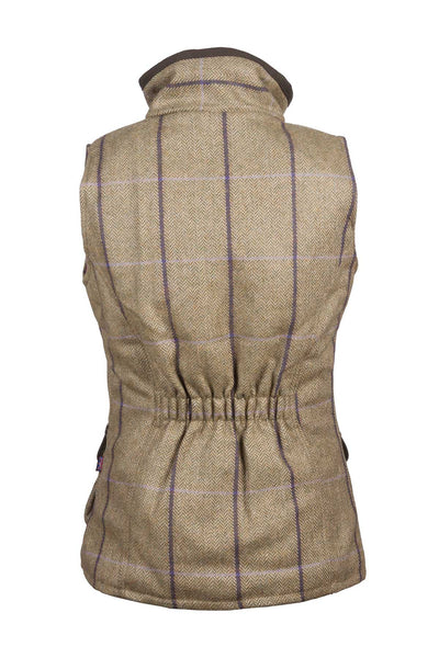Lucinda - Rydale Juniors Girls Tweed Waistcoat Bodywarmer