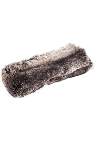 Grey - Soft Fur Headband