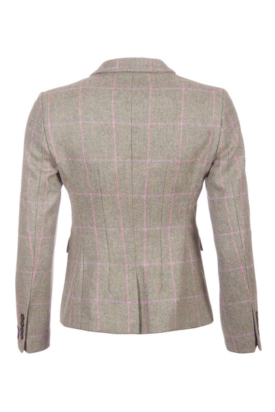 Helen - Ladies Short Tweed Blazer