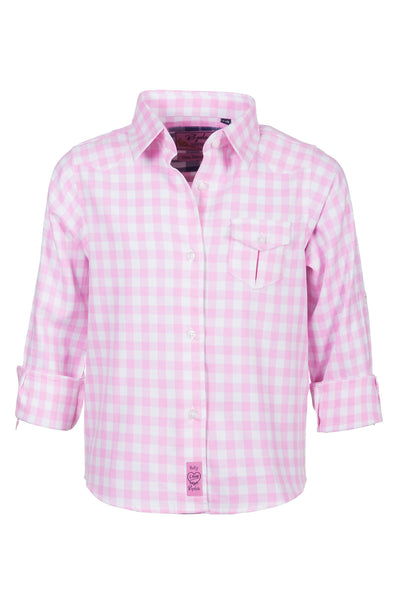 Holly Pink - Rydale Juniors' Girls' Country Check Shirts