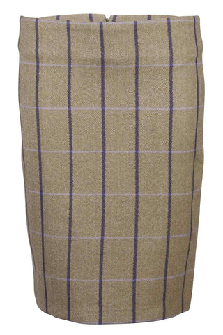 Classic Short Tweed Skirt