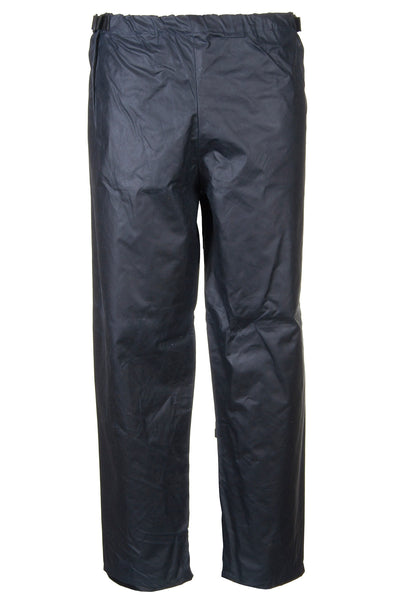 Navy - Waxed Cotton Overtrousers