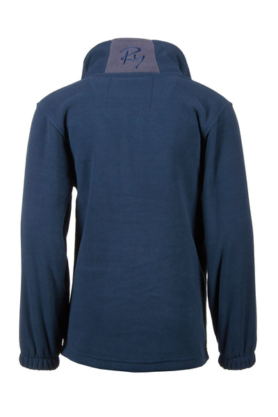 Navy - Junior Flaxton Fleece Jacket