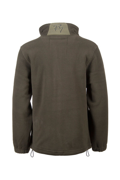 Olive - Junior Flaxton Fleece Jacket