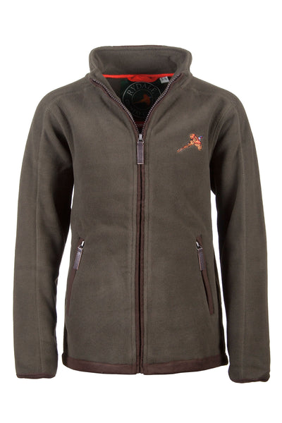 Olive - Junior Gransmoor Full Zip Fleece