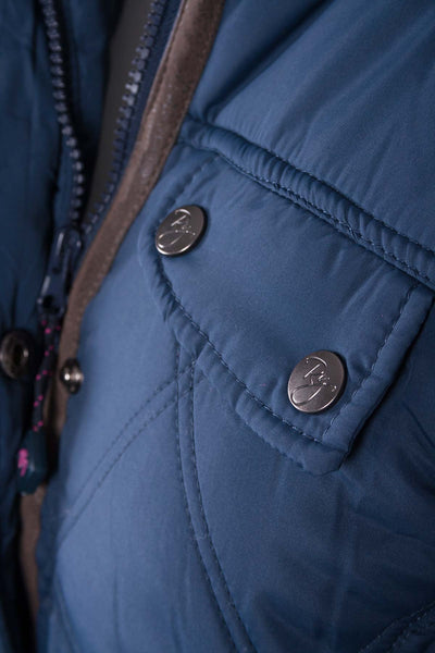 Navy - Kirby Quilted Gilet